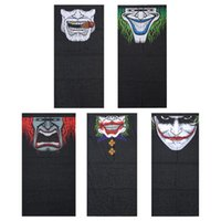 Wholesale Face Mask Bandanas - Wholesale- Windproof Skull Mouth Mask seamless magic bandanas outdoor sports washouts ride muffler scarf face mask