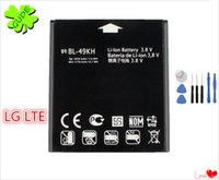 Wholesale Lg Optimus Lte - For LG Optimus LTE LU6200 P930 Battery Replacement High Quality With Free ePacket And Repair Tool Kit