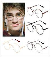 Wholesale Toy Eye Glasses - new arrive 6 colors Metal Fram Eye Dress Up Glasses Harry Potter Style Glasses vintage D482
