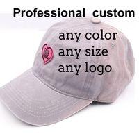 Wholesale Custom Shape Stickers - 100% Cotton Cap Peach heart cap shaped stickers letters fashion baseball hat Custom processing ball hat free shipping