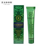 Wholesale Pure Skin Cream - Zador Fine Bar Makeup cover Pure Natural Avocado Oil Professional Face Concealer Makeup Base 13 Colors Primer Cream Tatoo Skin Concealer