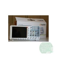 Owon SDS8202V + B Oscilloscopio digitale 200MHz 2channels 2GS / s Schermo LCD-TFT da 8 pollici SDS8202 USB + LAN + VGA + Battery + Bag