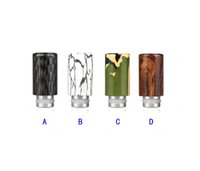 Wholesale Ego Assorted - ecigarettes drip tips 510 assorted new drip tip fit ego Fit DCT EVOD CE4 Protank RDA RBA wide bore drip tips