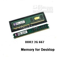Wholesale Ddr2 Desktop 667mhz 2gb - Brand New Sealed Desktop computer Ram 2G DDR2 667 Memory Free Shipping