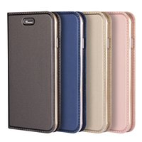 Wholesale book wallet case for sale – best Luxury Phone Cover for iphoneX Plus Plus Magnetic attraction Wallet Book Leather Flip Protective Case for i6 s Plus