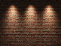 fondo telón de fondo piso al por mayor-Telones de fondo personalizados de vinilo Pared de ladrillo y piso de madera Tema Muselina Fotografía Fondo ZQ45