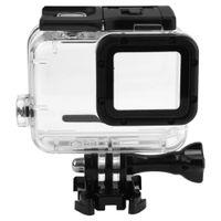 Wholesale gopro hero dive housing - 40M Underwater Waterproof Case for GoPro Hero 5 Black Go Pro Hero 6 Camera Diving Housing Mount for GoPro Hero 6 Accessory