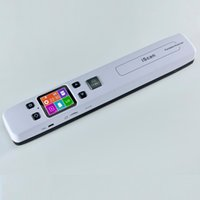 Wholesale Portable Barcode - Wholesale- High Speed Portable Scanner A4 Size Document Scanner 1050DPI JPG PDF Support 32G TF Card Mini Scanner Pen with Pre View PIcture