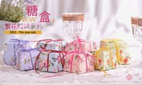 Wholesale Middle Paper - 2015 Colorful Cheap Wedding Candy Boxes Papery Middle Style 100 Pecs Lot Special Wedding Party Favors For Wedding Gust Gifts
