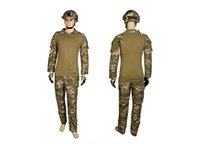 Wholesale Tactical Training Uniforms - new BDU training uniforms tactical clothing sets army outdoor men clothing for camping hiking hunting CL34-0057