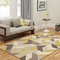 Wholesale Ikea Living Rooms - hot sale Nordic IKEA style geometric pattern carpet living room modern European sofa coffee table bedroom rectangle with free freight