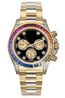 Men's special edition diamond - Luxury WATCHES Special Edition Safari Diamond Gold SACO MM Man Wristwatch