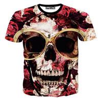 hip hop mujer al por mayor-w1209 2015 Hip Hop 3D Camiseta 2015 Harajuku Camiseta para mujeres y hombres Tops Tee Vetement Femme Chemise Homme Vrouwen Kleding