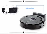 Wholesale Global Warranty Robotic Cleaner in LCD Screen Touch Button Schedule Work Virtual Wall Auto Charging Robot Vaccum Cleaner
