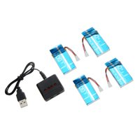 Wholesale track orders resale online - 3 V mAh C Lipo Battery and X4 Charger for Wltoys V931 F949 Helicopter order lt no track