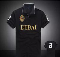 neue männer t-shirt großhandel-Hohe Qualität PoloShirt Männer Kurzarm T-Shirt Marke London New York Chicago Polo-Shirt Männer Dropship Günstige S-XXL