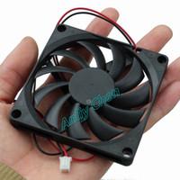 Wholesale Dc 12v Brushless Cooling Fan - Wholesale- 1 Pcs GDT Brushless Axial Industrial Flow Cooling Fans 80mm 80x80x10mm 8010S DC 12V 2P Duct Ventilation Cooler Fan