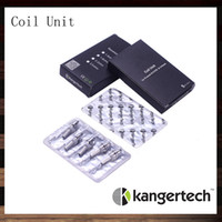 Wholesale kanger unitank mini - Kanger Coil Unit For Protank EVOD Unitank Clearomizer Kangertech Protank2 Mini Protank Unitank Evod MT3 Replacement Coils Head 100% Original