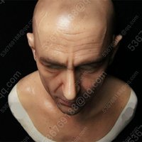 Wholesale Disguise Halloween - Simulation Makeup mask disguise Makeup mask disguise Super simulation mask Realistic silicone mask