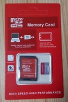 Wholesale Genuine Micro Sd Cards - 100% real original 8gb genuine capacity SDHC UHS-1 Class 10 micro sd card TF card with retail package 00013