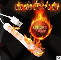 Wholesale Male Sex Toy Heater - LED Luminous Waterproof Real Feeling USB Heater for Male Masturbator, Sex Toys Love Sex Products