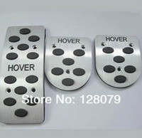 Wholesale 3 navigator Great Wall aval over H3 H5 H6 M2 M4 MT AT aluminum alloy car pedals foot pedal