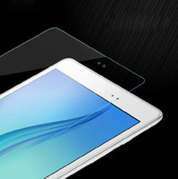 Wholesale Glass Tablet Lenovo - 9H Tempered Glass Screen Protector Protective Film for Samsung Galaxy Tab A E 7.0 8.0 9.6 9.7 10.1 T280 T350 T550 T580 T560 Tablet