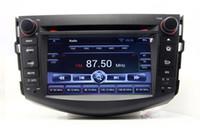 Wholesale Toyota Rav4 Car Gps Navigation - Android 4.4 Car DVD Player Radio for Toyota RAV4 2006-2012 with GPS Navigation Bluetooth TV USB SD AUX Audio Stereo WIFI
