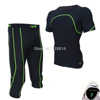Wholesale Yellow Coverall - Wholesale-CYCFIT Professional Men's tight suit outdoor indoor fitness wear absorbent and dry fast movement coverall