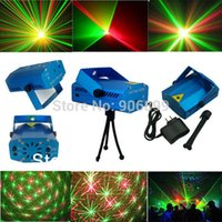 DJ Lumière Wholesale Club-2015New Mini Moving Head magique DJ Boule commande vocale Scène Laser Sound Projector Lumières d'Éclairage Disco Party