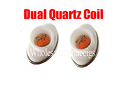 Wholesale Factory Electronics - full ceramic Wax dual quartz atomizer coil replacement for elips micro gpen cloud pen ceramic electronic cigarette Factory Price