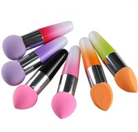 2015 Neue Make-up-Schwamm-Stick Soft bunte professionelle Kosmetik-Stiftung Schwamm Make-up Puff Make-up Schwamm Make Up Puff