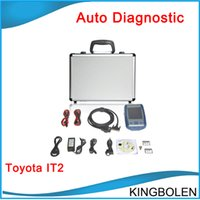 Wholesale Denso Intelligent Tester - 2017 New arrival Toyota Denso IT2 Intelligent Diagnostic Tester-2 DST-II for Toyota Lexus and Suzuki Tester DHL Free Shipping