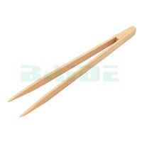 eletrônica bambu venda por atacado-15 cm Antiestático Dust-livre Cuspidal Bambu Pincette Reta Cabeça Pinças Nipper Eletrônica Ferramenta para Reparação Do Telefone