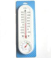 medidor de pared al por mayor-Medidor de humedad montado en la pared del higrómetro del termómetro análogo del hogar
