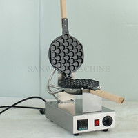 Коммерческое использование Nonstick Electric Digital Egg Waffle Maker Eggettes Puff Machine Bubble Waffle Baker Iron