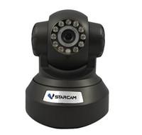 caméra infrarouge pour pc achat en gros de-VSTarcam Produit Chaude H6837WIP P / T P2P IR-CUT Wifi Infrarouge IP Caméra pour iOS / Android / PC avec TF Micro Slot Alarme WiFi IP Cam