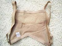 Wholesale Vest Chest Back Brace - Women Nude Color Spandex Stylish Adjustable Shoulder Back Posture Corrector Chest Brace Support Belt Vest Opp Bag DHL Free Shipping