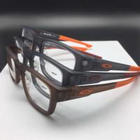 Wholesale Lightweight Prescription Eyeglasses - New O brand ultra-light sporty glasses frame comfortable-safety TR90 prescription glasses unisex rectangular muti-color OEM factory price
