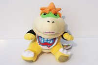 Wholesale mario bros brothers - New Sale Super Mario bros plush toys cm Bowser JR Koopa Bowser dragon no phone sucks plush doll Brothers soft Plush Gifts