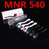 equipo para la salud al por mayor-MNR 540 micro agujas Derma Rolling System Micro Needle Skin Roller Dermatology Therapy System Equipo de belleza de la Salud Envío Gratis