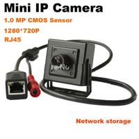 cámara megapíxel onvif al por mayor-2015 Onvif P2P H.264 3.6mm Lente 720P Megapixel HD 1MP Cámara CCTV de red de seguridad interior mini