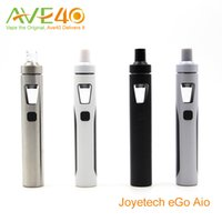 Wholesale Electronic Cigarettes Joyetech - Anthenic Joyetech eGo Aio Electronic Cigarettes Starter Kit With BF ss316 1500mAh ego aio Battery 2ml Capacity Top Air Flow Never Leak