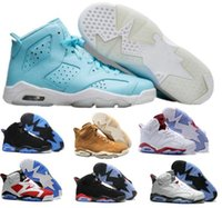 Wholesale Men S Us14 - Cheap Retro 6 Basketball Shoes New 2017 Retros 6s Men s Women Real Replicas Man Women Hombre Basket Sneakers