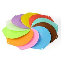 silikon mutfağı örtün toptan satış-Silikon Taze Tutma Kapağı Çok Fonksiyonlu Koruma Ev Mutfak Malzemeleri Için Isıya Dayanıklı Kapakları Çok Renkli 2 82lm C