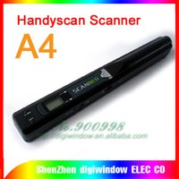 Wholesale Handyscan Scanner - HOT Mini handy Cordless wireless HAND-HELD scaner Handyscan Portable Scanner free shipping