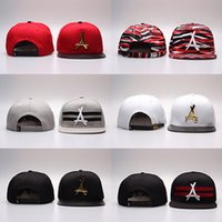 Wholesale Cotton Logos Design - New Arrival Fashion Design THA Alumni Snapback Hats Mens Womens Baseball Caps Sport Caps Flat Brim Hats With Logo A Hat High Quality