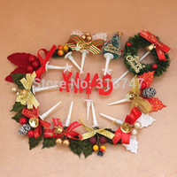 Wholesale Baking Ornament - Free shipping Wholesale (12pcs lot) 10 types Baking Decoration Christmas cake decoration accessories 058002019