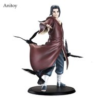 Наруто Uchiha Itachi 1/8 Scale Painted Figure Uchiha Itachi Brinquedos Anime One Piece PVC Action Figure Коллекционная модель Toy 17cm KT3403