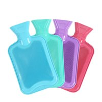 Wholesale Stylish Thickened Rubber Water Filling Hot Water Bag Hand Warmer Winter Essential Hot Water Bottles Heater Tools Explosion proof